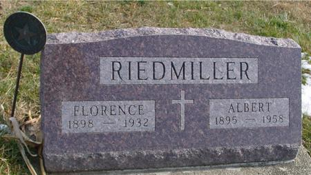 RIEDMILLER, ALBERT & FLORENCE - Woodbury County, Iowa | ALBERT & FLORENCE RIEDMILLER