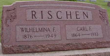 RISCHEN, CARL & WILHELMINA - Woodbury County, Iowa   CARL & WILHELMINA RISCHEN