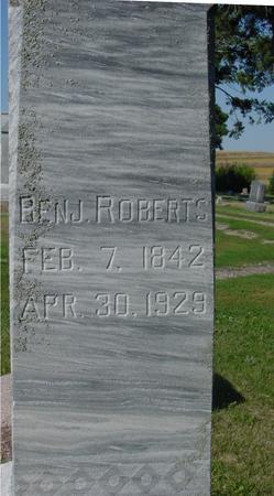 ROBERTS, BENJAMIN - Woodbury County, Iowa | BENJAMIN ROBERTS