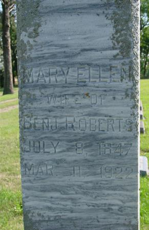 ROBERTS, MARY ELLEN - Woodbury County, Iowa | MARY ELLEN ROBERTS