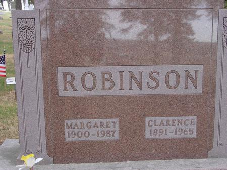ROBINSON, CLARENCE & MARGARET - Woodbury County, Iowa | CLARENCE & MARGARET ROBINSON