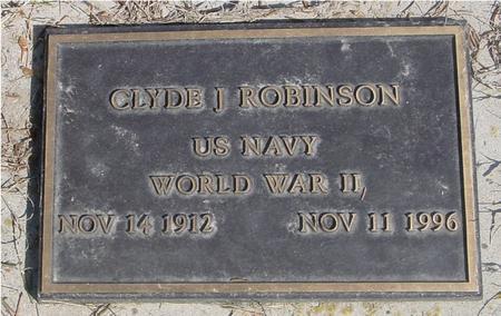 ROBINSON, CLYDE J. - Woodbury County, Iowa | CLYDE J. ROBINSON
