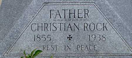 ROCK, CHRISTIAN - Woodbury County, Iowa | CHRISTIAN ROCK