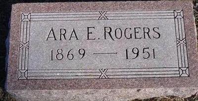 ROGERS, ARA E. - Woodbury County, Iowa | ARA E. ROGERS