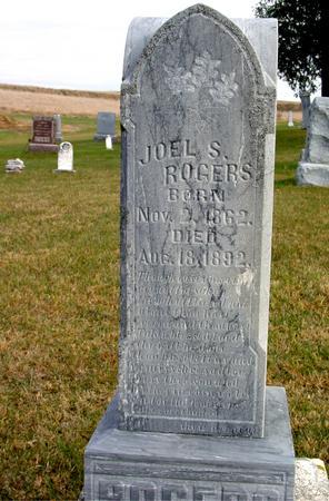 ROGERS, JOEL S. - Woodbury County, Iowa | JOEL S. ROGERS