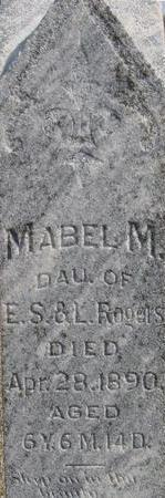 ROGERS, MABEL M. - Woodbury County, Iowa | MABEL M. ROGERS