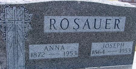 ROSAUER, JOSEPH & ANNA - Woodbury County, Iowa | JOSEPH & ANNA ROSAUER