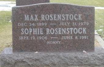 ROSENSTOCK, SOPHIE - Woodbury County, Iowa | SOPHIE ROSENSTOCK