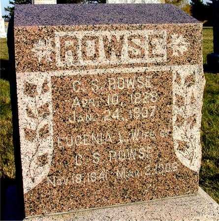 ROWSE, C. S. & EUGENIA - Woodbury County, Iowa | C. S. & EUGENIA ROWSE