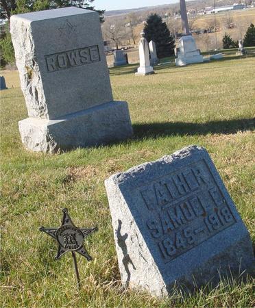 ROWSE, SAMUEL E. - Woodbury County, Iowa | SAMUEL E. ROWSE