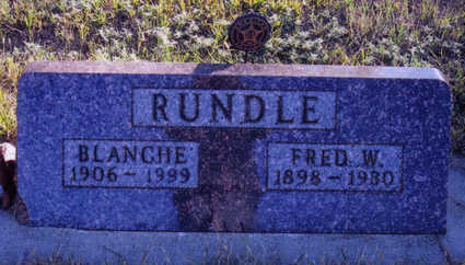 RUNDLE, BLANCHE - Woodbury County, Iowa | BLANCHE RUNDLE