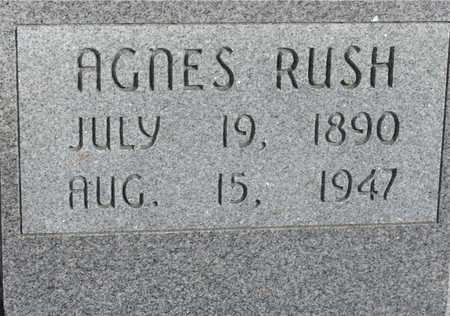 RUSH, AGNES - Woodbury County, Iowa | AGNES RUSH