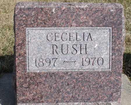 RUSH, CECELIA - Woodbury County, Iowa | CECELIA RUSH
