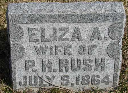 RUSH, ELIZA A. - Woodbury County, Iowa | ELIZA A. RUSH