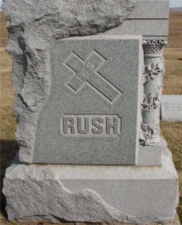 RUSH, FAMILY MARKER - Woodbury County, Iowa | FAMILY MARKER RUSH