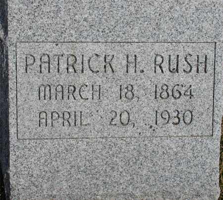RUSH, PATRICK H. - Woodbury County, Iowa | PATRICK H. RUSH
