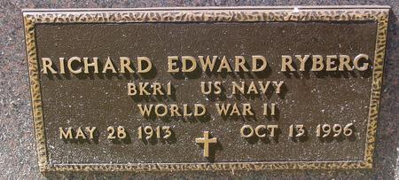 RYBERG, RICHARD EDWARD - Woodbury County, Iowa   RICHARD EDWARD RYBERG