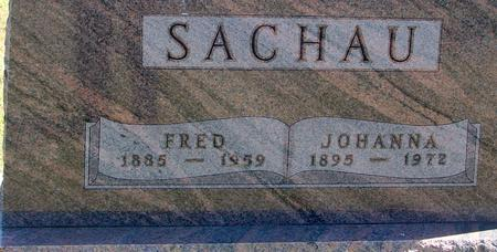 SACHAU, FRED & JOHANNA - Woodbury County, Iowa | FRED & JOHANNA SACHAU