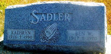 SADLER, BEN & KATHRYN - Woodbury County, Iowa | BEN & KATHRYN SADLER