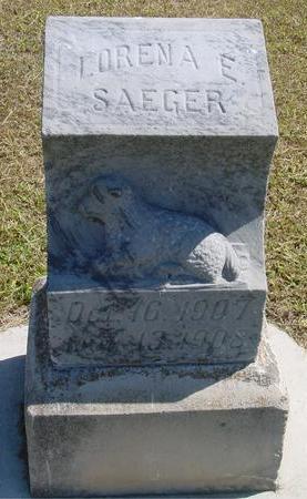SAEGER, LORENA E. - Woodbury County, Iowa | LORENA E. SAEGER