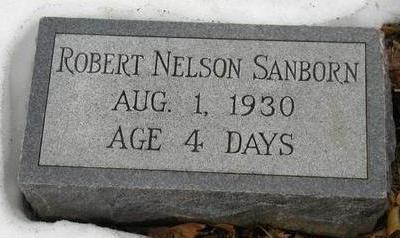 SANBORN, ROBERT NELSON - Woodbury County, Iowa | ROBERT NELSON SANBORN