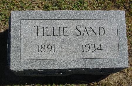 SAND, TILLIE - Woodbury County, Iowa | TILLIE SAND