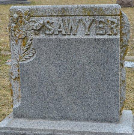 SAWYER, *FAMILY MONUMENT - Woodbury County, Iowa | *FAMILY MONUMENT SAWYER