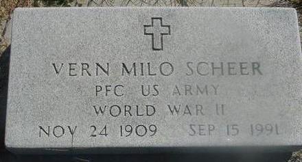 SCHEER, VERN MILO - Woodbury County, Iowa | VERN MILO SCHEER