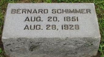 SCHIMMER, BERNARD - Woodbury County, Iowa | BERNARD SCHIMMER