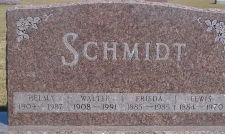 SCHMIDT, LEWIS & FRIEDA - Woodbury County, Iowa | LEWIS & FRIEDA SCHMIDT
