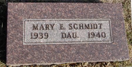 SCHMIDT, MARY E. - Woodbury County, Iowa | MARY E. SCHMIDT