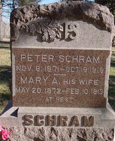 SCHRAM, PETER & MARY - Woodbury County, Iowa | PETER & MARY SCHRAM