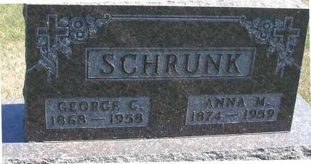 SCHRUNK, GEORGE & ANNA - Woodbury County, Iowa | GEORGE & ANNA SCHRUNK