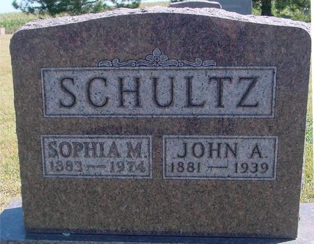 SCHULTZ, JOHN & SOPHIA - Woodbury County, Iowa | JOHN & SOPHIA SCHULTZ