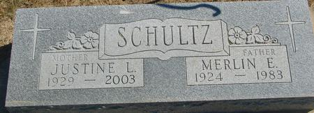 SCHULTZ, MERLIN & JUSTINE - Woodbury County, Iowa | MERLIN & JUSTINE SCHULTZ