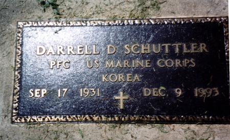 SCHUTTLER, DARRELL  D. - Woodbury County, Iowa | DARRELL  D. SCHUTTLER