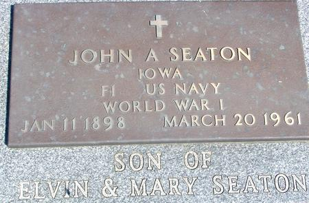 SEATON, JOHN A. - Woodbury County, Iowa | JOHN A. SEATON
