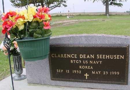 SEEHUSEN, CLARENCE DEAN - Woodbury County, Iowa | CLARENCE DEAN SEEHUSEN