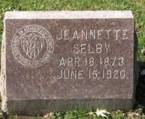 SELBY, JEANNETTE - Woodbury County, Iowa | JEANNETTE SELBY