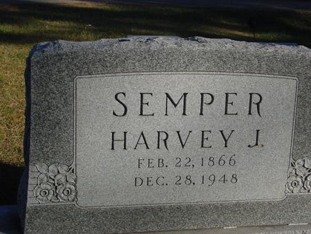 SEMPER, HARVEY J. - Woodbury County, Iowa   HARVEY J. SEMPER