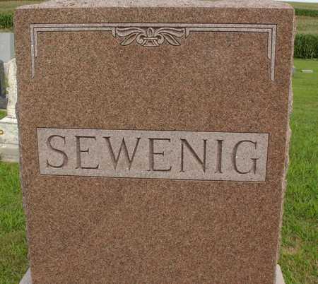SEWENIG, FAMILY MARKER - Woodbury County, Iowa   FAMILY MARKER SEWENIG
