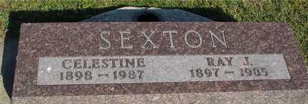 SEXTON, RAY J. & CELESTINE - Woodbury County, Iowa | RAY J. & CELESTINE SEXTON