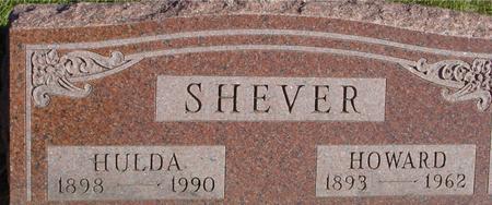 SHEVER, HOWARD & HULDA - Woodbury County, Iowa   HOWARD & HULDA SHEVER