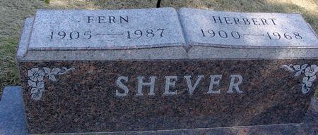 SHEVER, HERBERT & FERN - Woodbury County, Iowa   HERBERT & FERN SHEVER