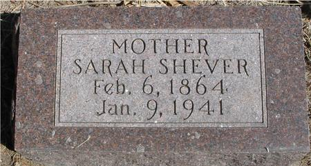 SHEVER, SARAH - Woodbury County, Iowa | SARAH SHEVER