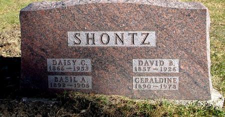 SHONTZ, BASIL & GERALDINE - Woodbury County, Iowa | BASIL & GERALDINE SHONTZ