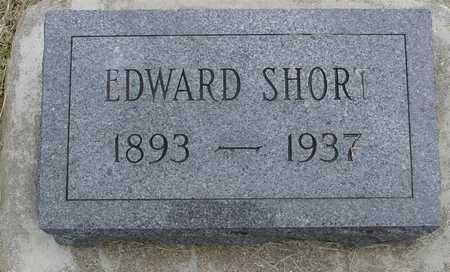 SHORT, EDWARD - Woodbury County, Iowa | EDWARD SHORT