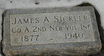 SICKLER, JAMES A - Woodbury County, Iowa | JAMES A SICKLER