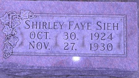 SIEH, SHIRLEY FAYE - Woodbury County, Iowa | SHIRLEY FAYE SIEH