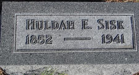 SISK, HULDAH E. - Woodbury County, Iowa | HULDAH E. SISK